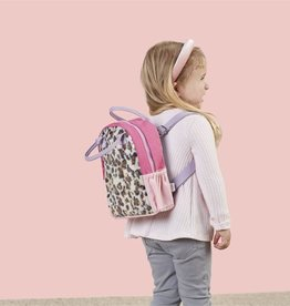 Mud Pie Canvas backpack - Leopard