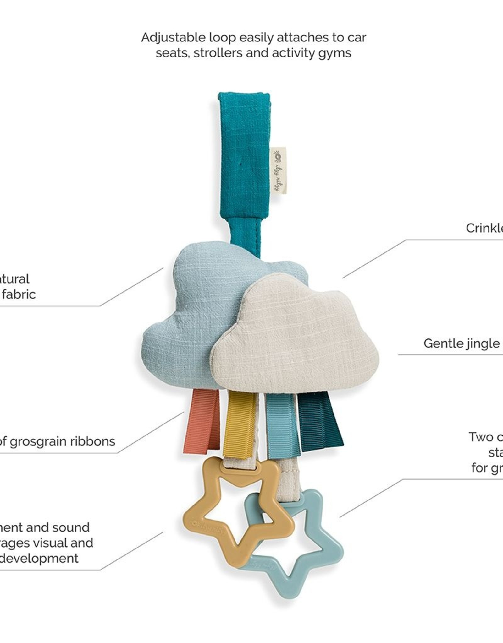 Itzy Ritzy Ritzy Jingle Attachable Travel Toy
