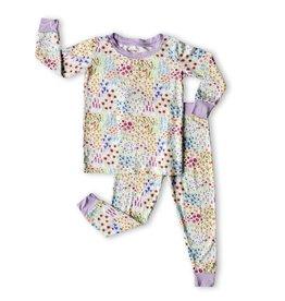 Little Sleepies Flower Fields 2-Piece Bamboo Pajama Set