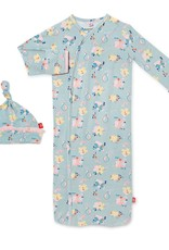 Magnetic Me Notting Hill modal Gown/Hat NB-3 months