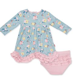 Magnetic Me Notting Hill Modal Dress & Diaper Cover 0-3 months