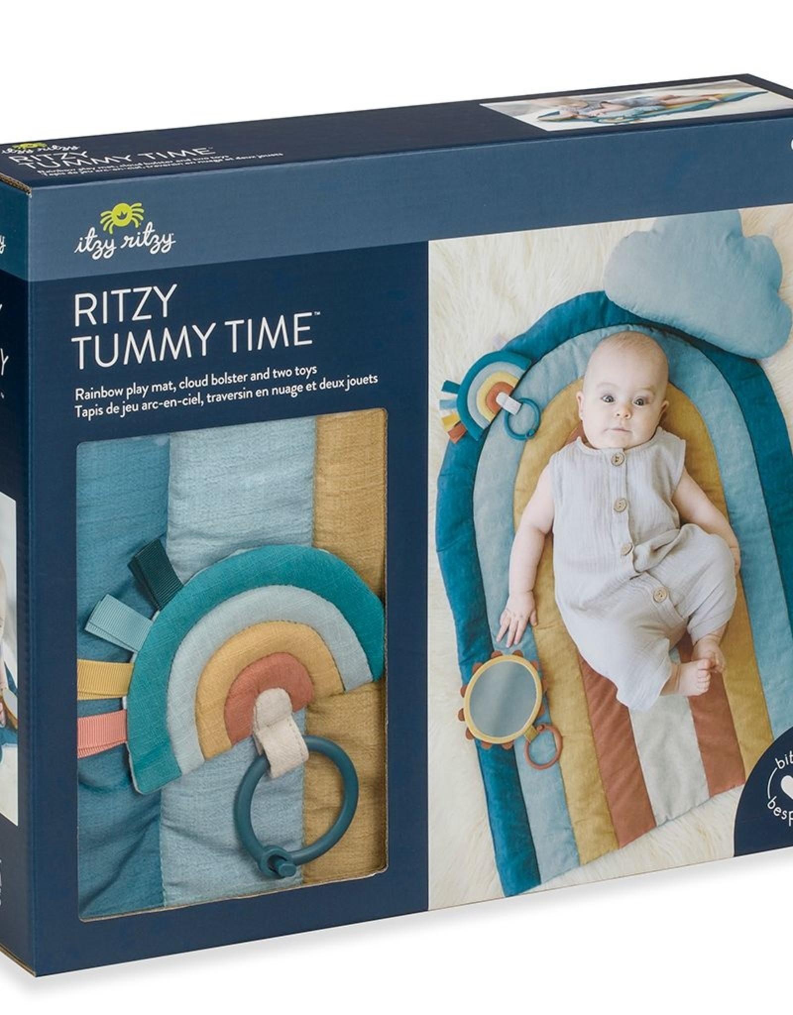 Itzy Ritzy Ritzy Tummy Time™ Rainbow Play Mat