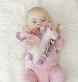 Itzy Ritzy Link & Love™ Pegasus Activity Plush w/ Teether Toy