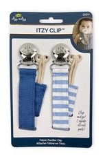 Itzy Ritzy Itzy Clip™ Linen Pacifier Straps
