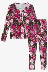 Posh Peanut Zelda - Women Long Sleeve Pajama Set