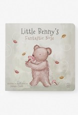 Elegant Baby Benny Bear Board Book
