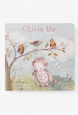 Elegant Baby Olivia Owl Board Book