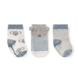 Elegant Baby Sock Set - Koala non-slip 3PK