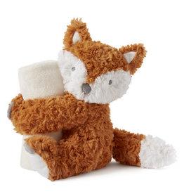 Elegant Baby Naptime Huggie Plush Toy - Fox