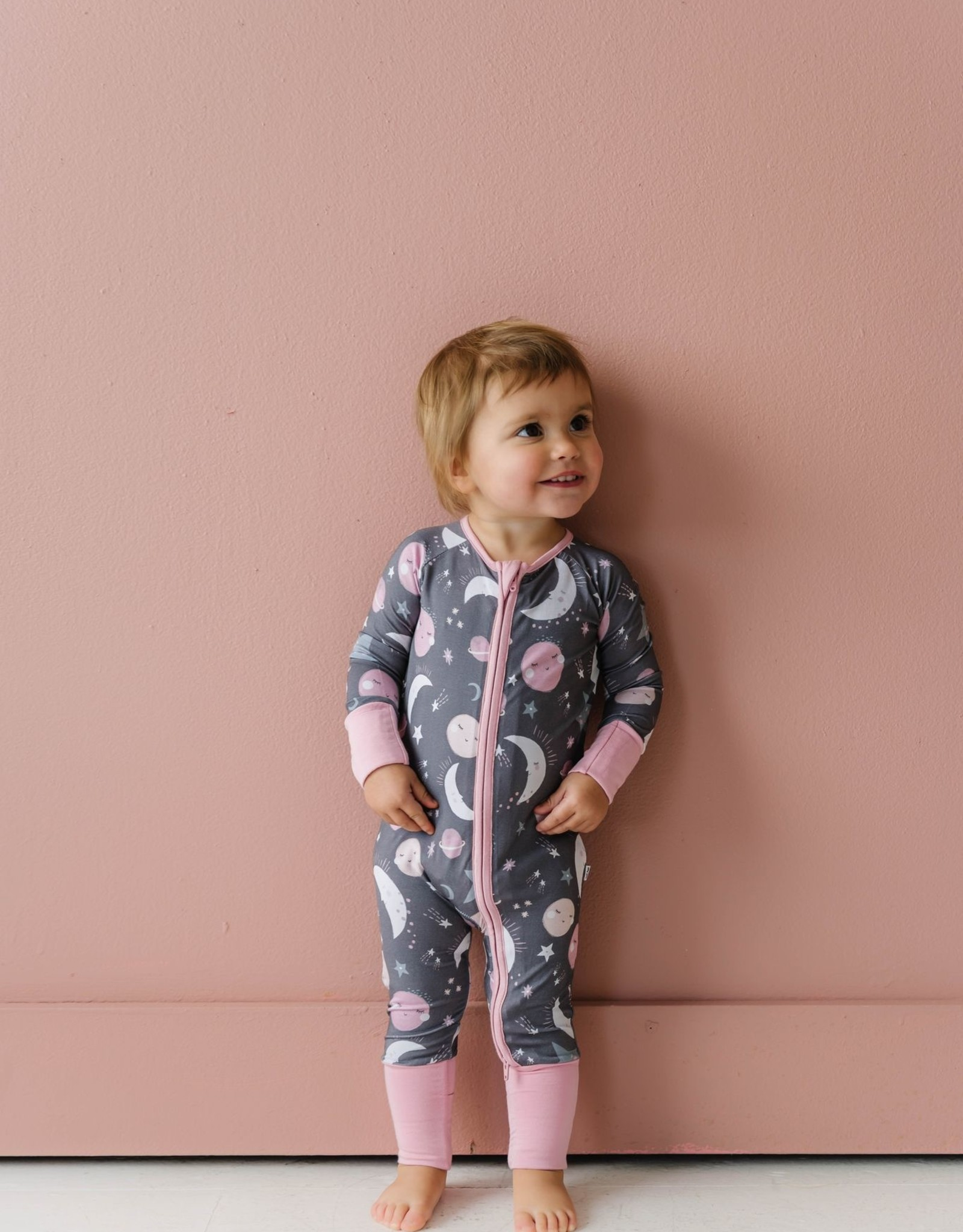 Little Sleepies To The Moon and Back (pink or blue) Zippy Sleeper