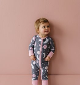 Little Sleepies To The Moon and Back (pink or blue) Zippy Sleeper PRE-ORDER