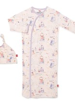 Magnetic Me Owl Love You Forever Magnetic Gown w/ Hat - Modal