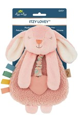 Itzy Ritzy Itzy Lovey™ Bunny Plush with Silicone Teether Toy