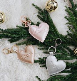 Itzy Ritzy Mama Heart Diaper Bag Charm Keychains