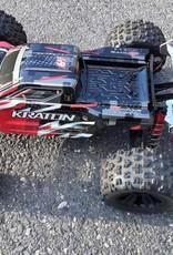 RC Speed Monsters RSM ARRMA  KRATON 6S Rear Wing black