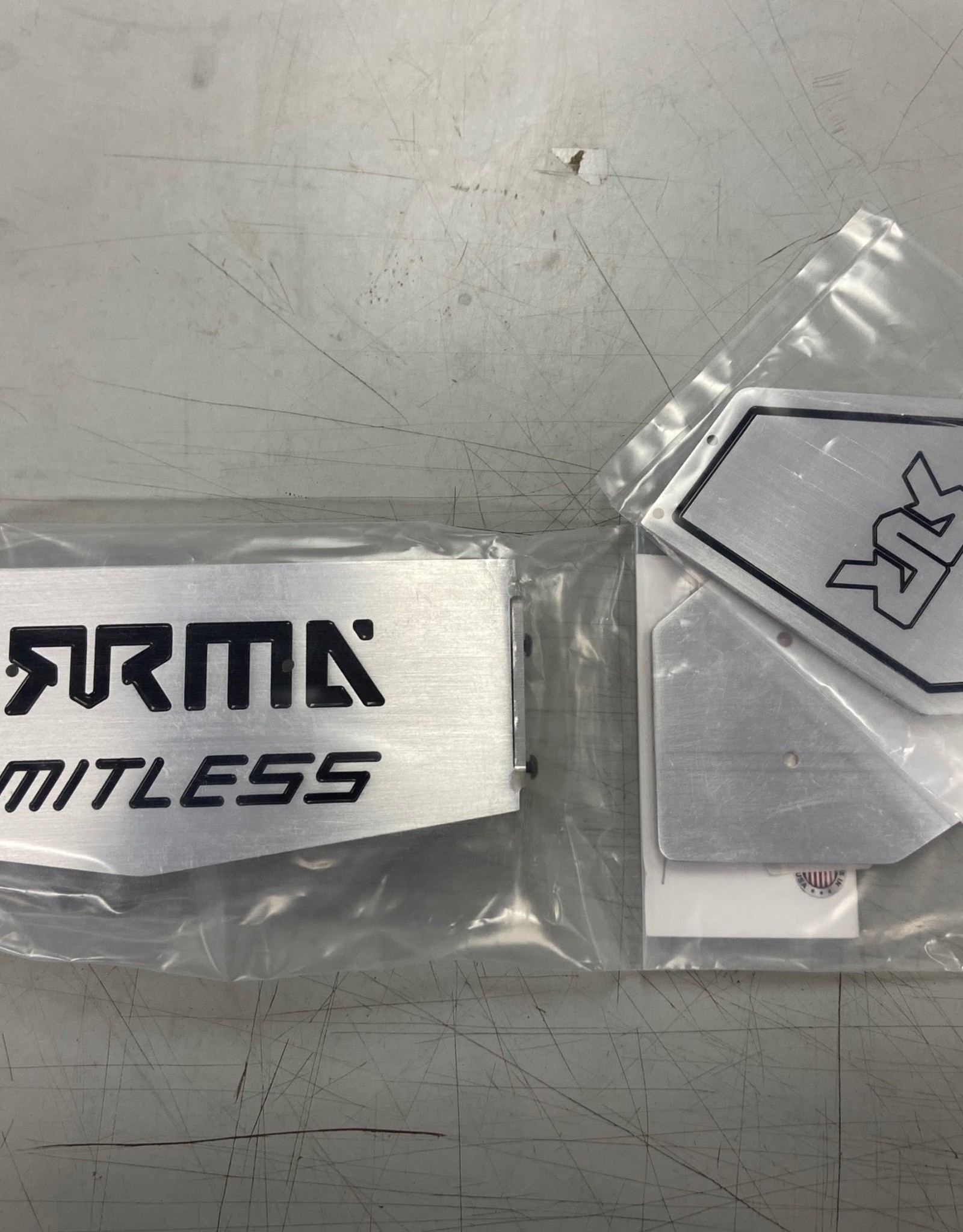 RC Speed Monsters RSM ARRMA Limitless Rear Wing Aluminum (Back Inlay)