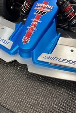 RC Speed Monsters RSM ARRMA Limitless Front Wing or Spoiler (Blue Inlay)