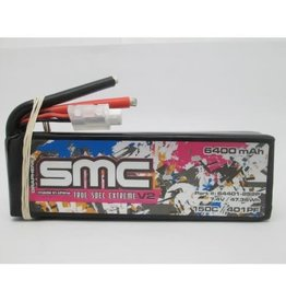smc64401-4s2p True Spec Extreme Graphene V2 14.8V-6400mAh-150C Softcase