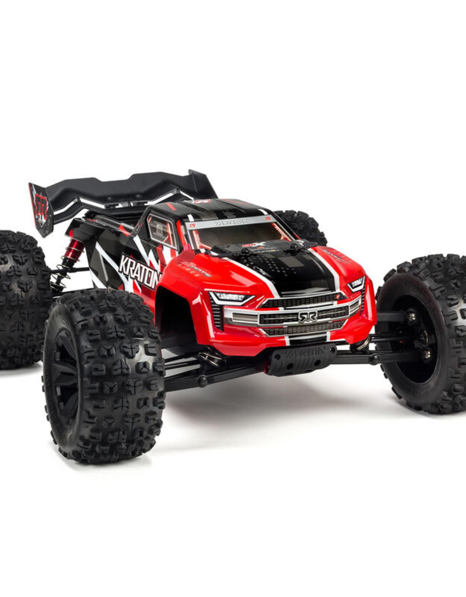 Arrma ARA106040T1 1/8 Kraton 6S 4WD BLX Speed Monster Truck RTR Red