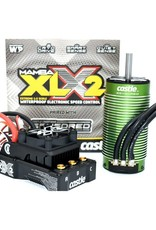 CSE010016702 MAMBA XLX 2 1/5 ESC/1100Kv Motor Combo w/20A BEC