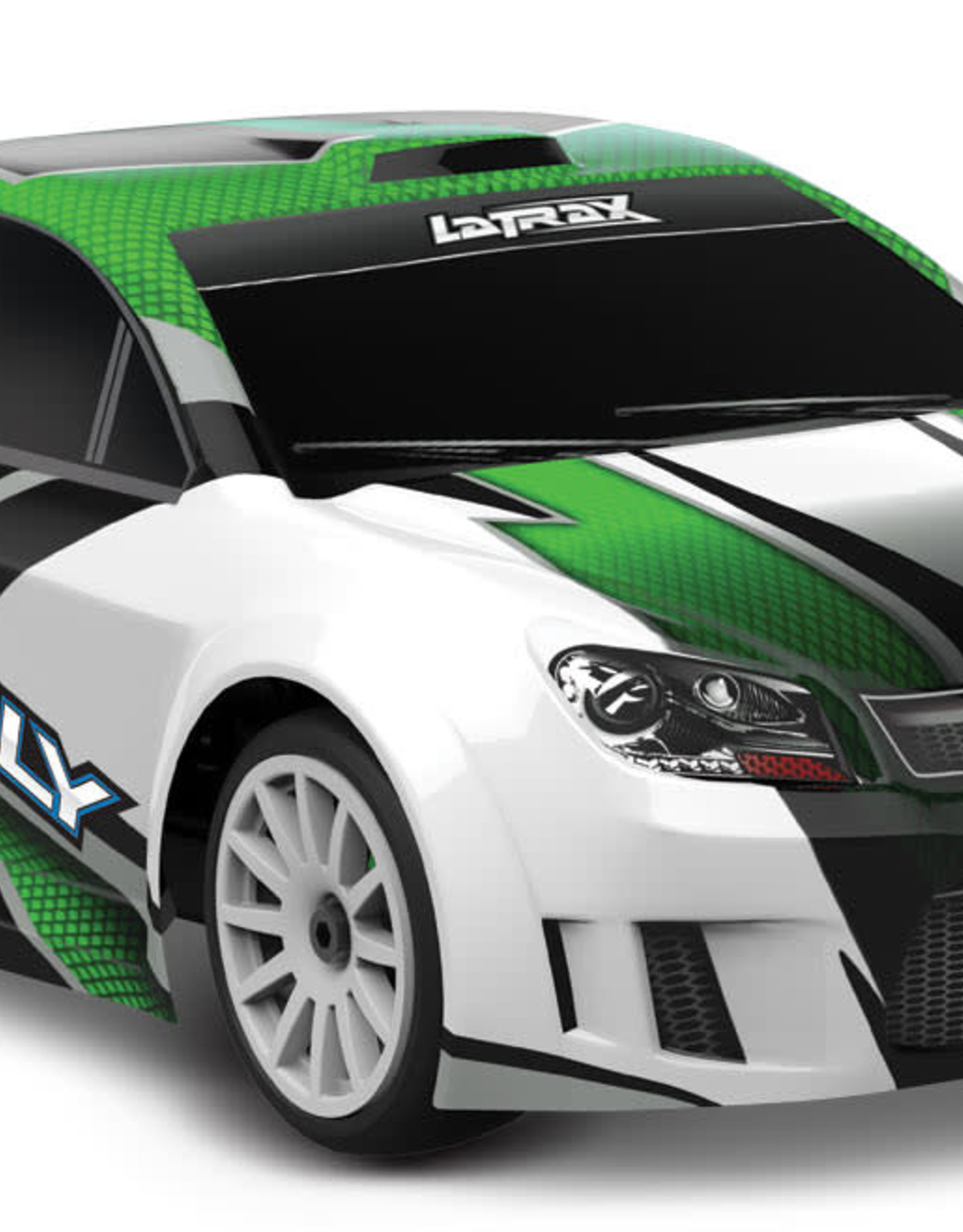 Traxxas TRA75054-5 GREEN LaTrax® Rally: 1/18 Scale 4WD Electric Rally Racer. Ready-To-Race® and Powered by Traxxas®
