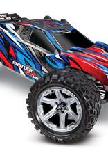 Traxxas TRA67076-4 Blue/Red RUSTLER 4X4 VXL
