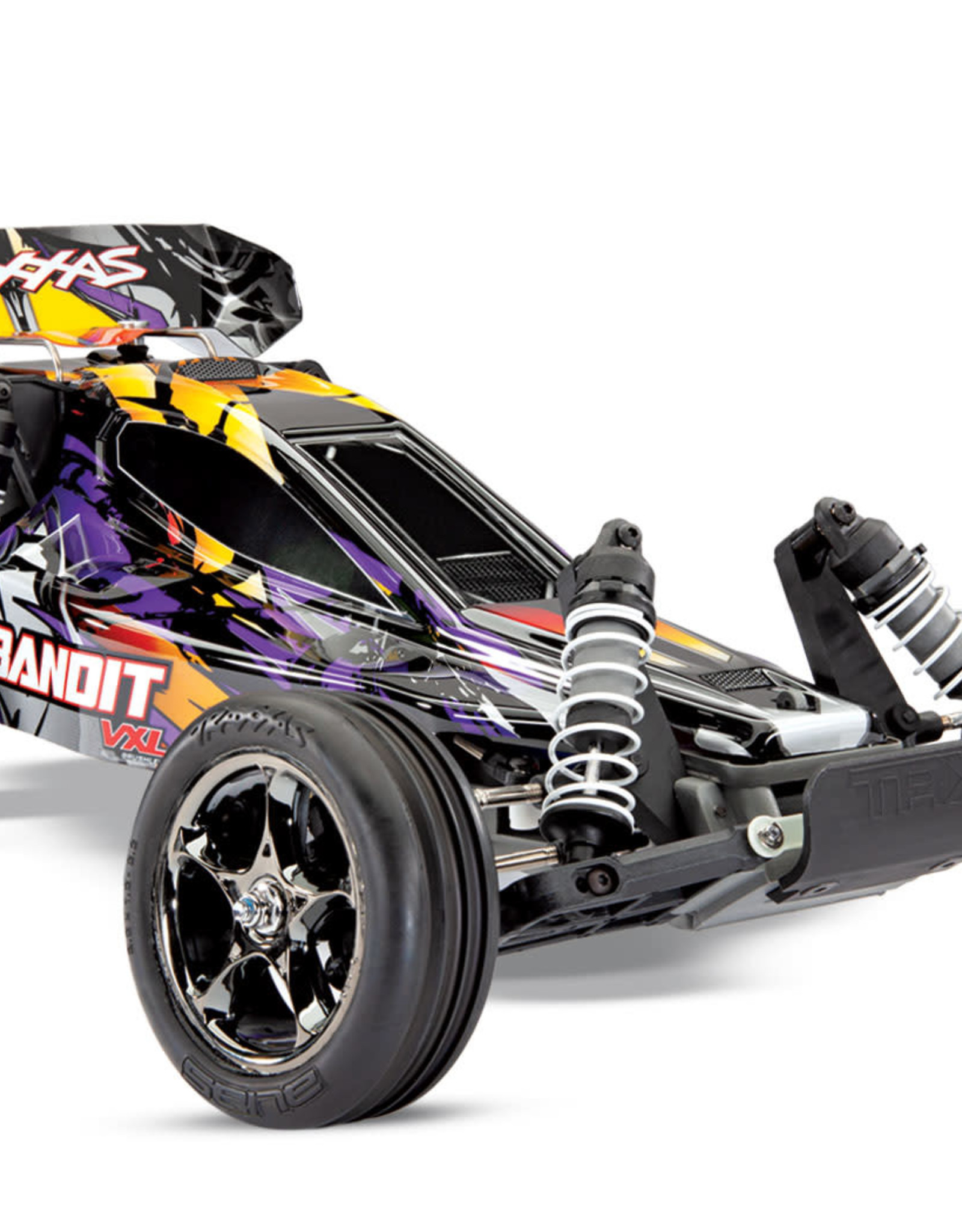Traxxas TRA4076-4 Purple Bandit VXL 1/10 Scale off road Buggy with Stability Management No Battery