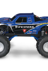 Traxxas TRA36084-1 Firestone Blue Bigfoot 1/10 Scale 2WD RTR Monster Truck