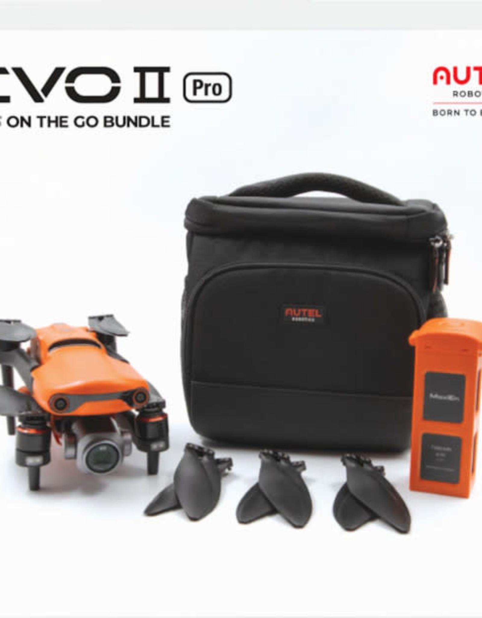Autel Robotics EVO II Pro 6K Plus On The Go Bundle - Black/Orange