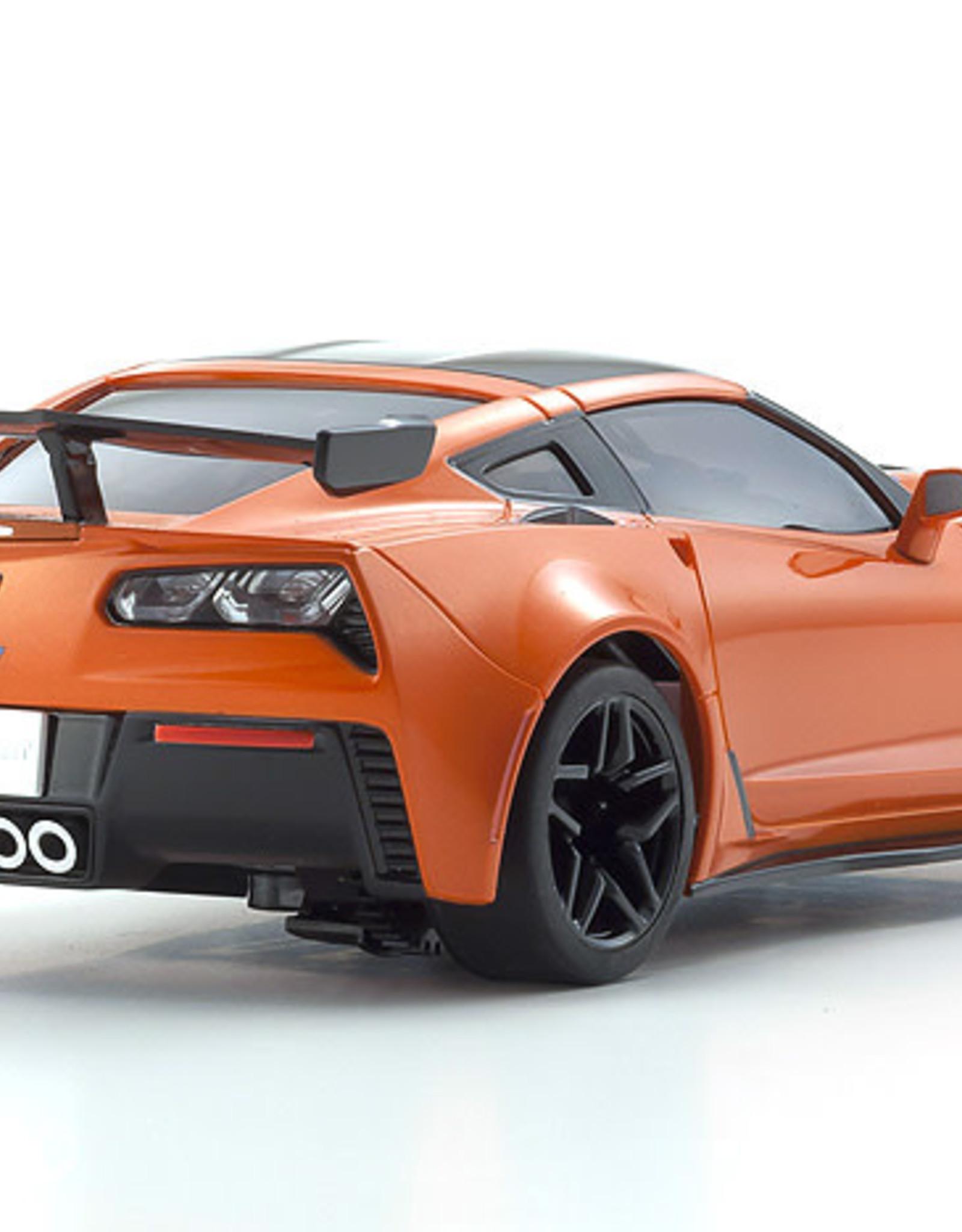 KYOSHO KYO32334OR MINI-Z RWD Corvette ZR1 Sebring Orange w/LED