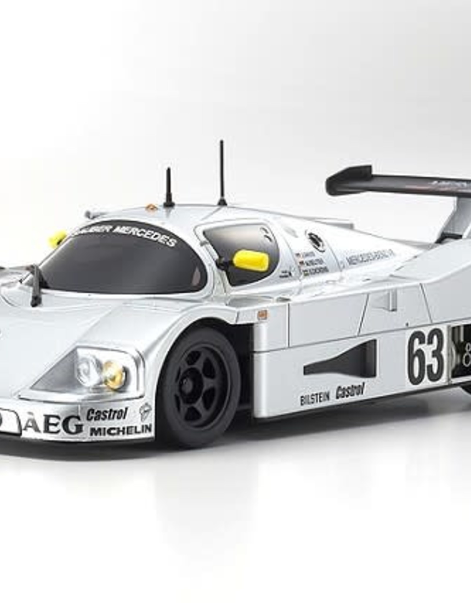 KYOSHO KYO32327S-B MINI-Z RWD Sauber-Mercedes C9 No. 63 LM 1989 MR-03 Readyset