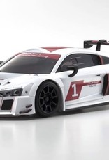KYOSHO KYO32323AS-B MINI-Z RWD Audi R8 LMS White 2015 MR-03 Readyset