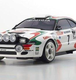 KYOSHO KYOMZP446JK ASC MA-020 Toyota CELICA TURBO 4WD No. 7 WRC 1993 Juha Kankkunen