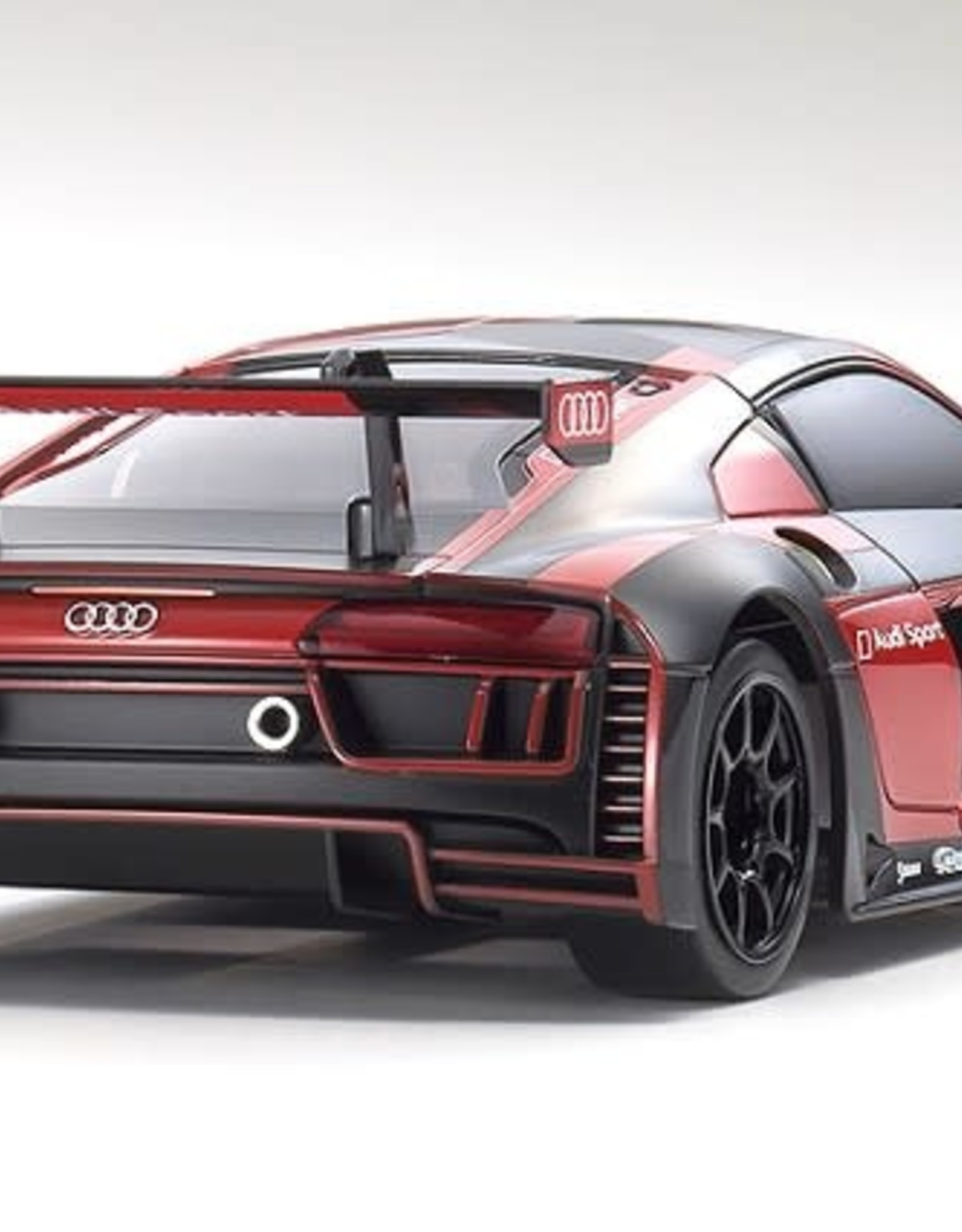 KYOSHO KYOMZP234BKR-B ASC MR-03W-MM ASC Audi R8 LMS 2016 Black/Red