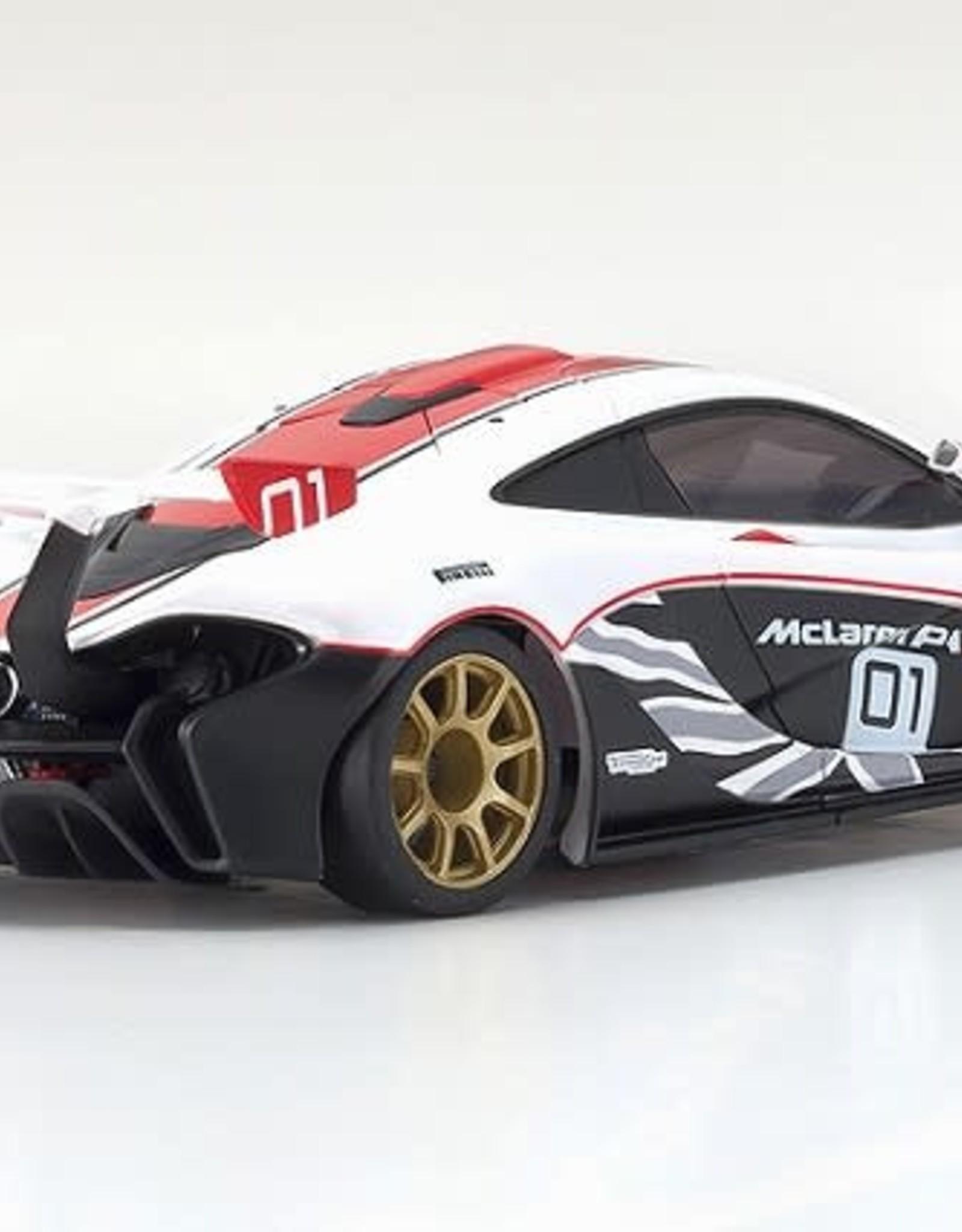 KYOSHO KYOMZP235WR ASC MR-03W-MM ASC McLaren P1 GTR White/Red