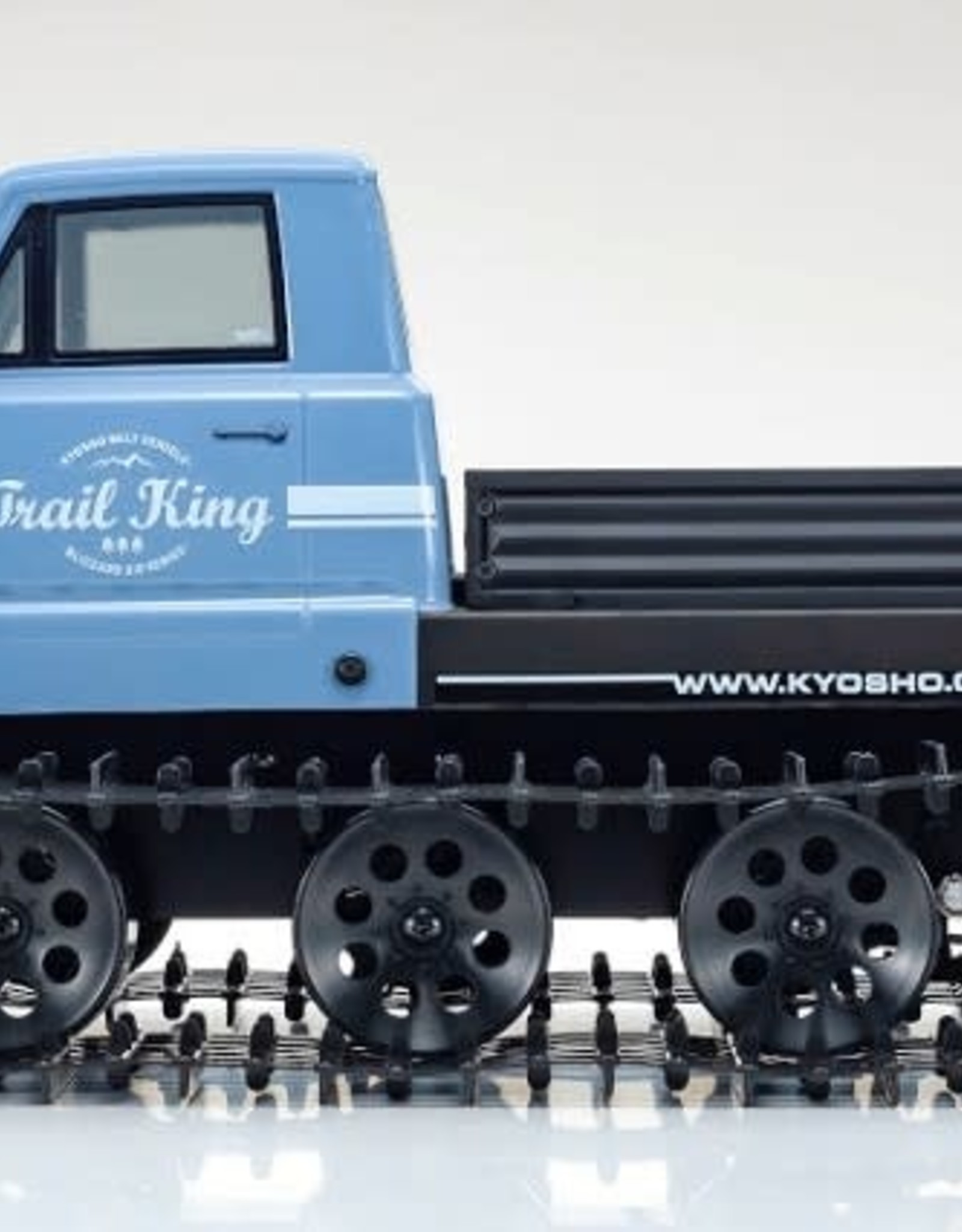 KYOSHO KYO34903T2 1/12 Scale EP Belt Vehicle Readyset Trail King Color Type 2 Blue