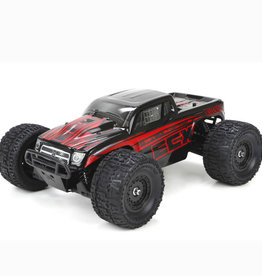 ECX ECX010000T1 Ruckus 1/18 4WD Monster Truck Black/Red RTR