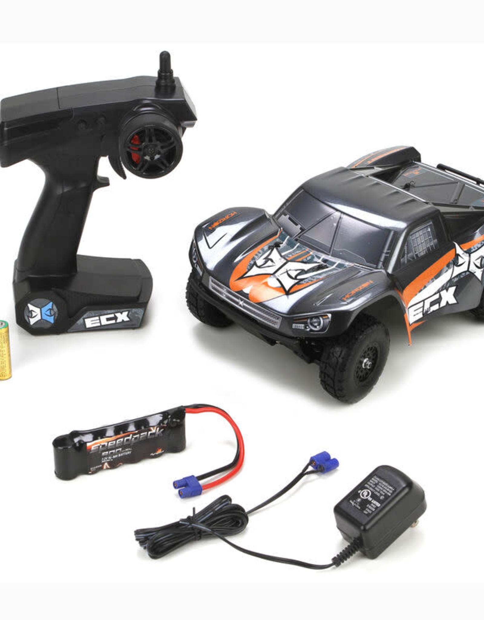 ECX ECX01001T1 Torment1/18 4WD Short Course Truck:Gray/OrangeRTR