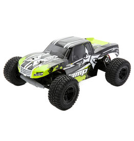 ECX ECX03028T2 AMP MT 1:10 2WD Monster Truck: Black/Green RTR