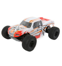 ECX ECX03028T1 AMP MT 1:10 2WD Monster Truck:White/Orange RTR