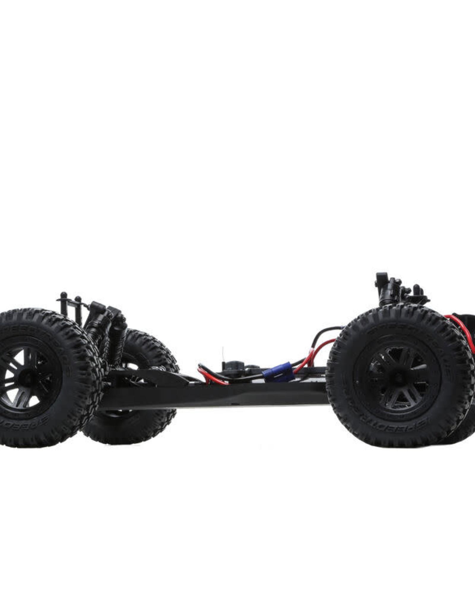 ECX ECX03028T1 AMP MT 1:10 2WD Monster Truck:White/Orange RTR