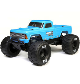 ECX ECX03048T1 1/10 AMP CRUSH MT 2WD: Blue RTR
