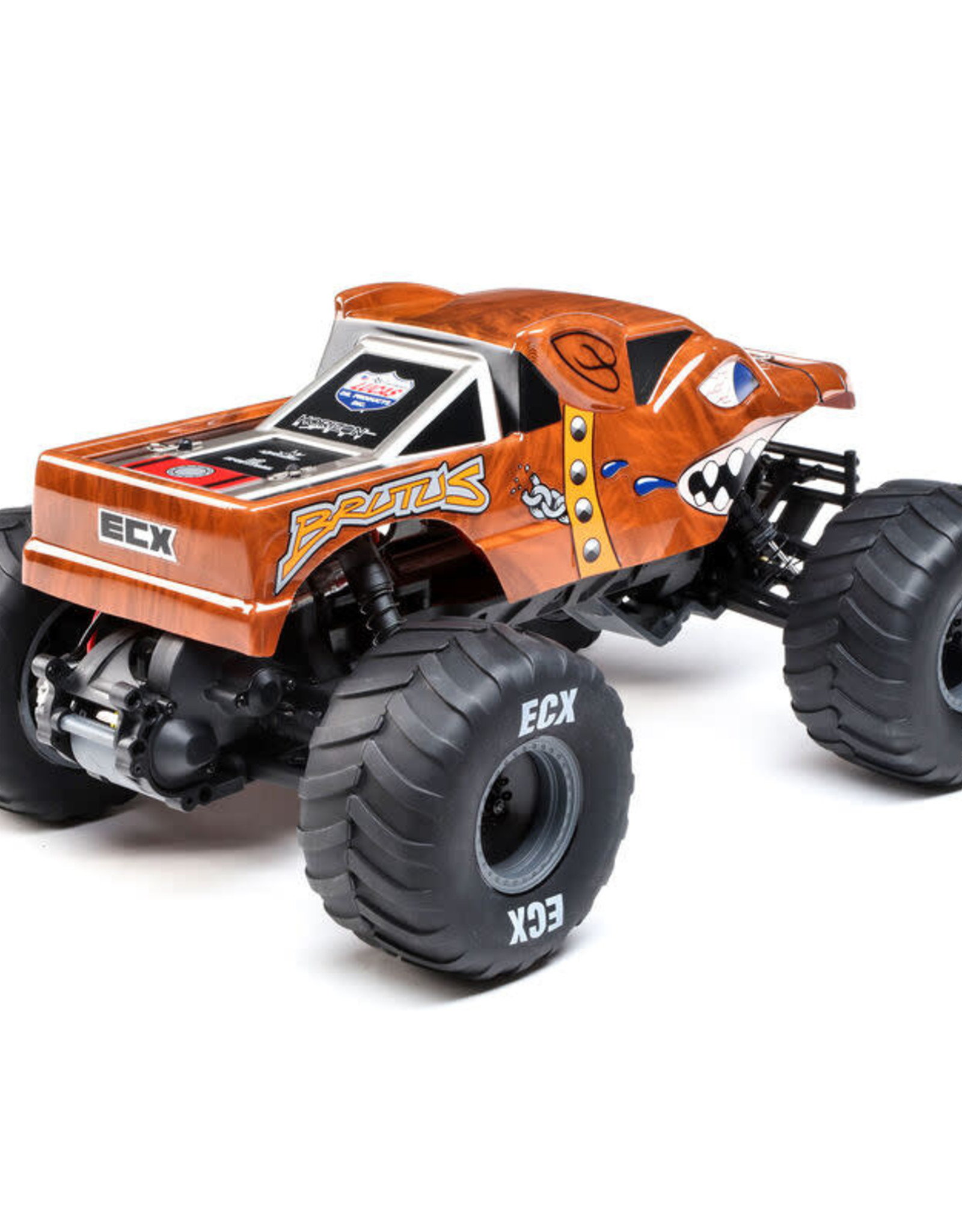 ECX ECX03055 1/10 Brutus 2wd Monster Truck Brushed RTR