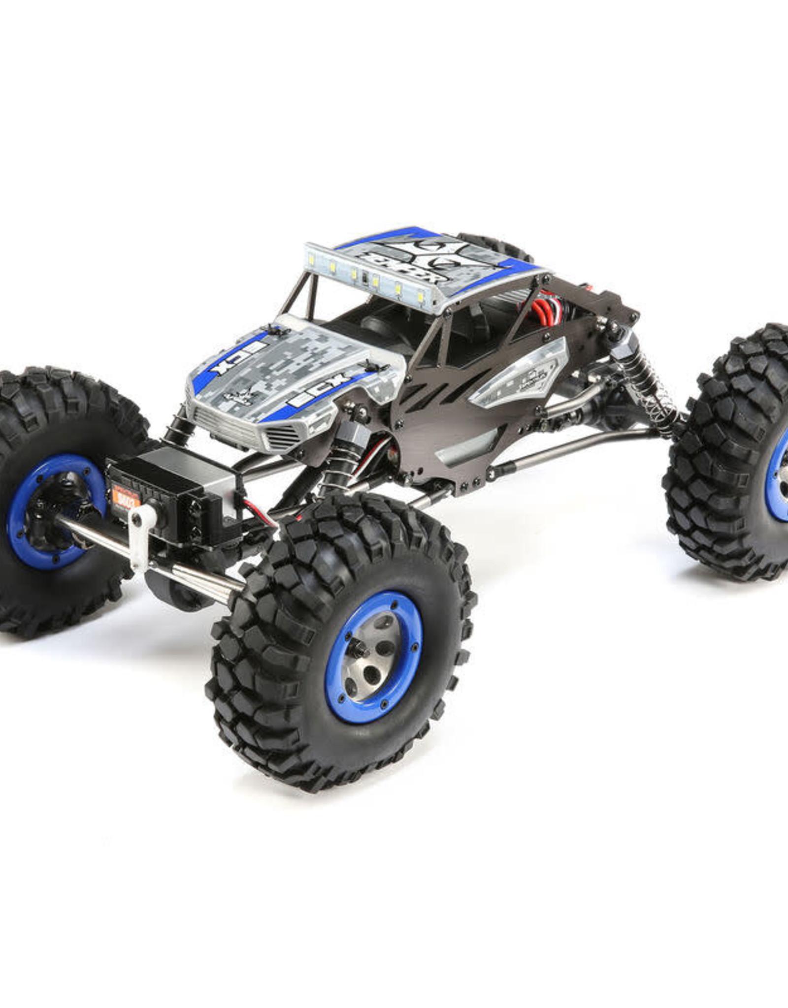 ECX ECX01015T2 1/18 4WD Temper Gen 2, Brushed: Blue RTR