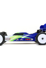 Losi LOS01016T1 1/16 Mini-B Brushed RTR 2WD Buggy, Blue/White