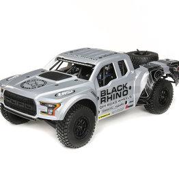 Losi LOS03020T2 1/10 Ford Raptor Baja Rey 4WD Desert Truck Brushless RTR, Black Rhino