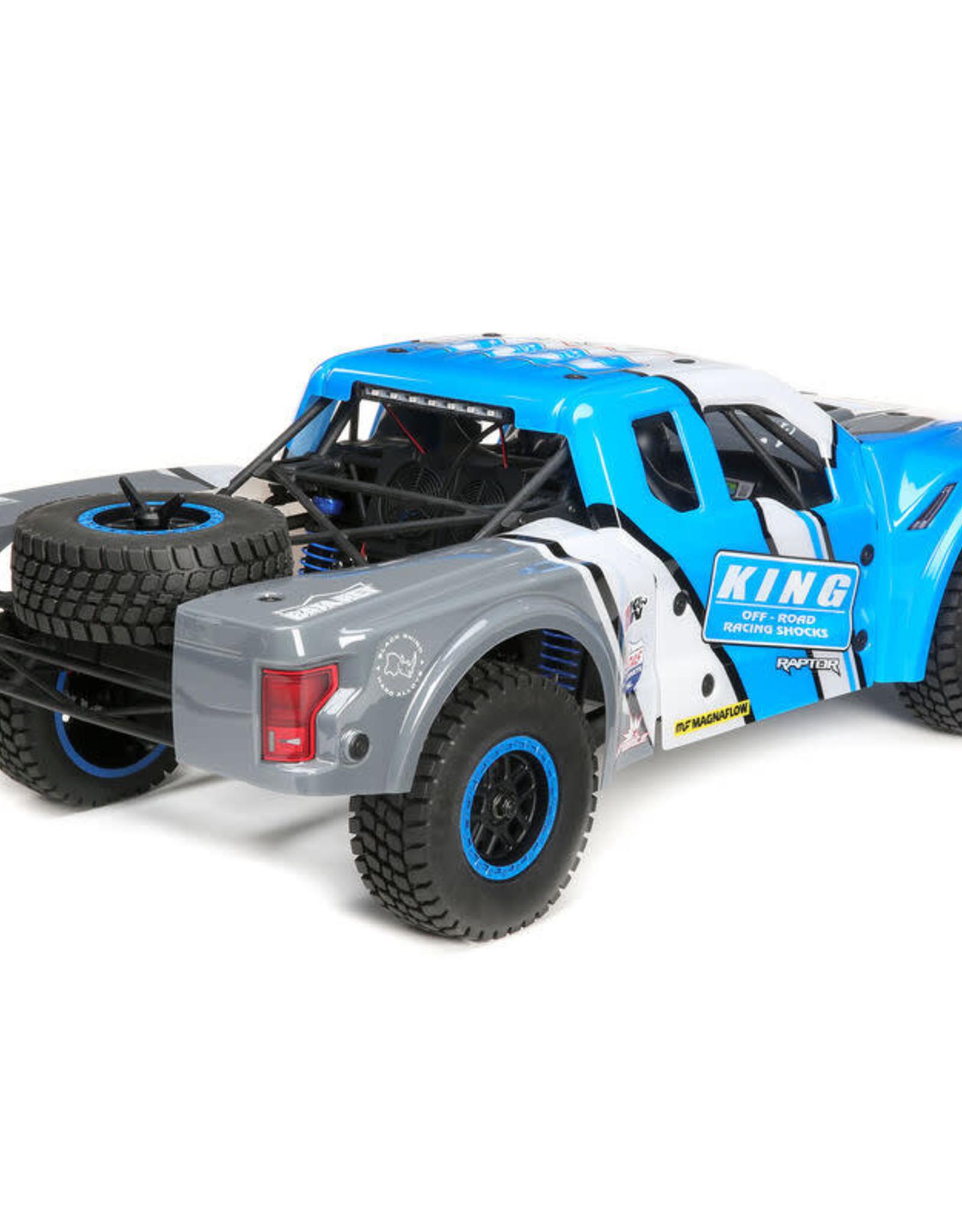Losi LOS03020T1 1/10 Ford Raptor Baja Rey 4WD Desert Truck Brushless RTR, King Shocks