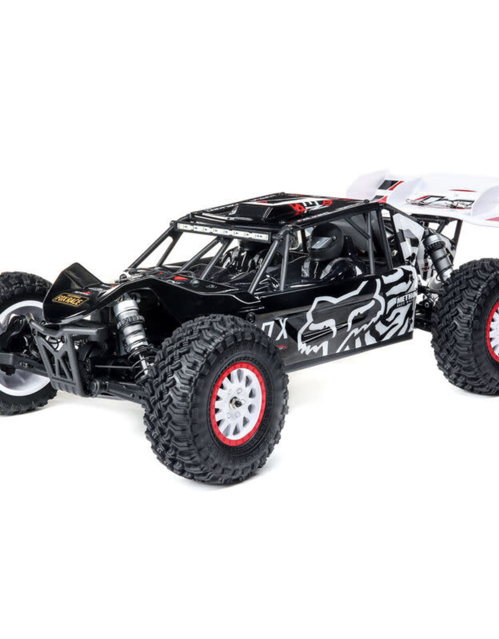 Losi LOS03027T2 1/10 Tenacity DB Pro 4WD Desert Buggy Brushless RTR with Smart, Fox Racing