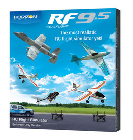 RFL1201 RealFlight 9.5 Flight Simulator Software Only