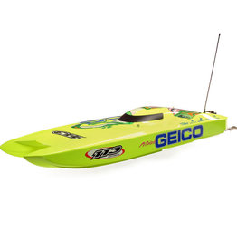 Proboat PRB08040 Miss GEICO Zelos 36 Twin Brushless Catamaran: RTR